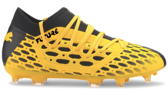 Puma Jr Netfit 5.3 FG (Yellow/Black) - soccerhome.ca