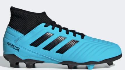 Adidas Jr Predator 19.3 FG (Light Blue/Black) - soccerhome.ca