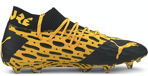 Puma Future 5.1 Netfit FG (Orange/Black) - soccerhome.ca