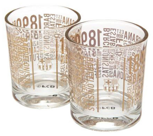Barcelona - Whisky Glass (2-Pack) - soccerhome.ca