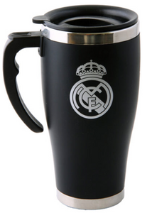 Real Madrid - Handle Executive Travel Mug - soccerhome.ca