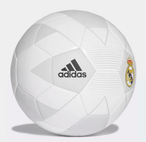 Adidas Ball Real Madrid Size 5 (White) - soccerhome.ca