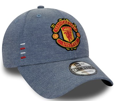 Manchester United New Era Blue Denim Hat - soccerhome.ca