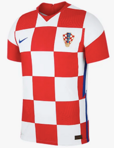Croatia Nike Euro 2021 Home Jersey (Contact for Details)
