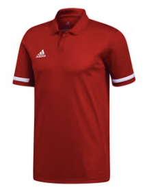 Adidas Team 19 Polo (Red)