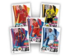 UEFA Champions League 20/21 Cards Individual Packs