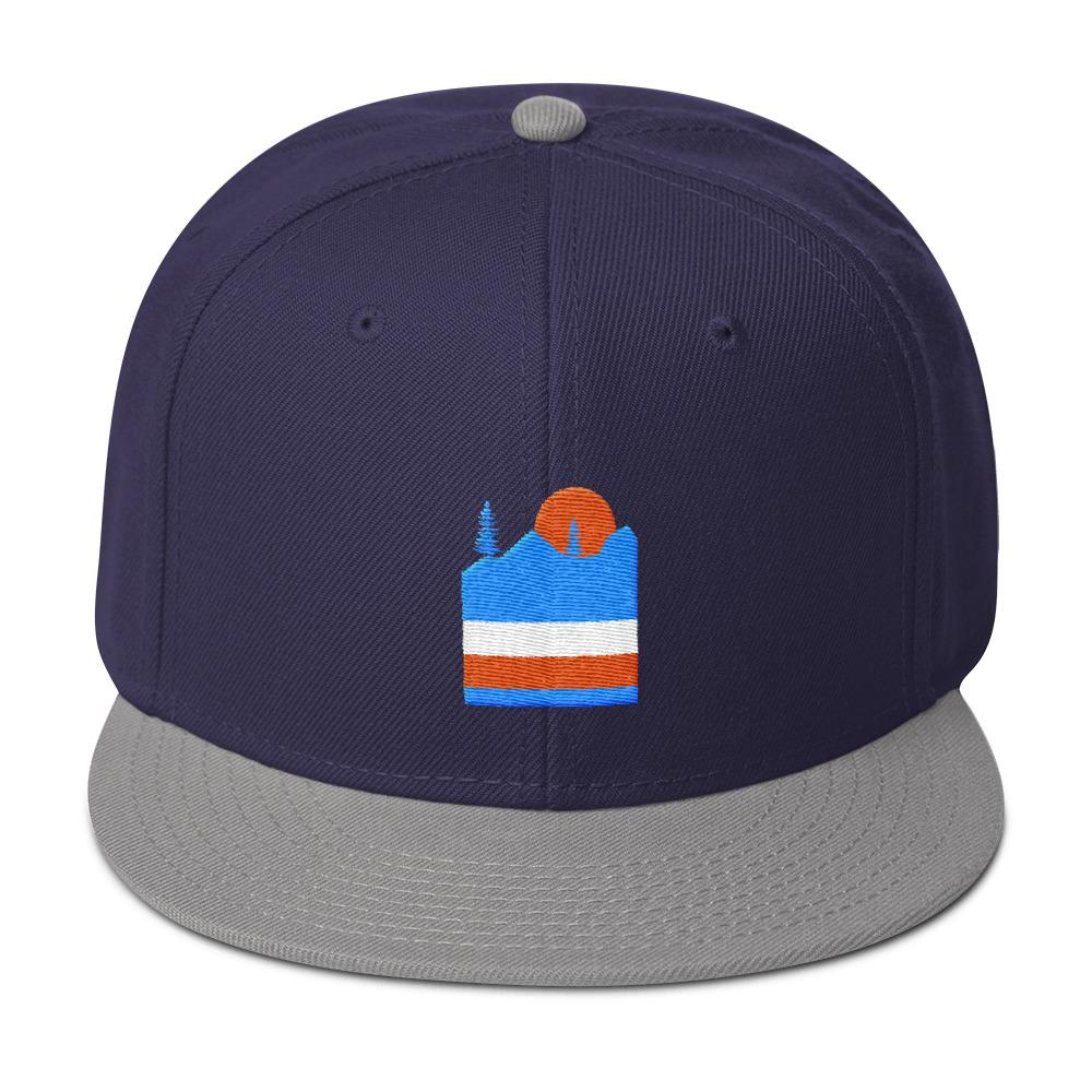 Hit the Hills Snapback Hat - New View Clothing