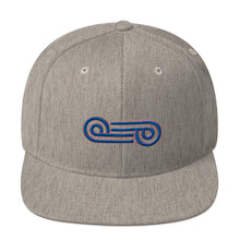 Load image into Gallery viewer, N V Looped Snapback Hat - New View Clothing