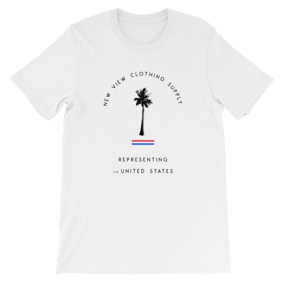 Palm Tree Logo T-Shirt - New View Clothing