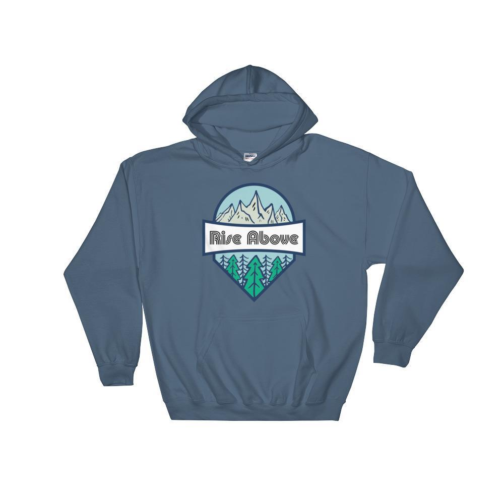Rise Above the Rest Hoodie - New View Clothing