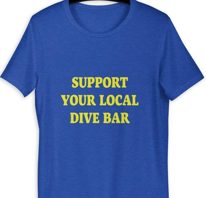Support Your Local Wine Bar Tee Shirt - New View Clothing