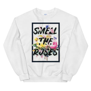 Wake Up and Smell the Roses Sweatshirt - New View Clothing