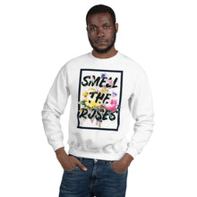 Load image into Gallery viewer, Wake Up and Smell the Roses Sweatshirt - New View Clothing