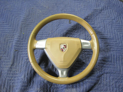 987.1 & 997.1 tan steering wheel with airbag