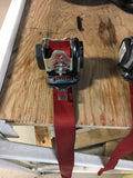 987.1 OEM red seat belts