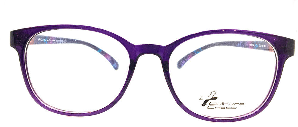 Special Purple Colorful Frame 16001M C3 (FREE Rx lens Included)