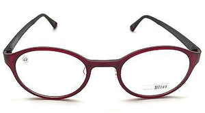 Prescription Eyeglasses Frame Super Light, Flexible, Ultem Bliss 3012 C43C