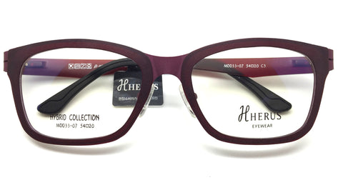 Piovino Prescription Eyeglasses Herus Trifold Hybrid Metal and Ultem MOD 33-07 C3