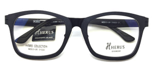 Piovino Prescription Eyeglasses Herus Trifold Hybrid Metal and Ultem MOD33-09 C1