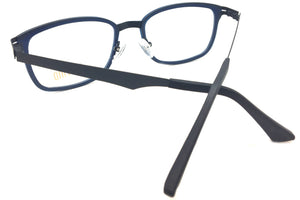 Piovino Prescription Eyeglasses Soltax Hybrid Metal and Ultem PV 5606 0909M Blue&Black