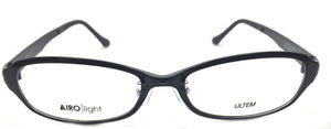 AIRO Light 22 Prescription Eyeglasses Frame SBK