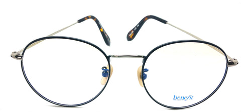 Benifit Prescription Eyeglasses Metal Frame BF ST New York C4