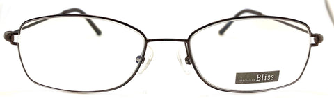 Prescription Eye Glasses Frame, Plastic Fashionable Metal Round Frame Bl 302A C1