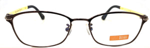 Prescription Eye Glasses Frame, Plastic Fashionable Metal Frame Bl 8511 C5