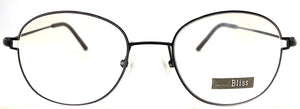 Prescription Eye Glasses Frame, Plastic Fashionable Metal Frame Bl EK 301A C2