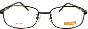 Prescription Eye Glasses Frame, Fashionable Metal Frame Bl Sk9504 Black