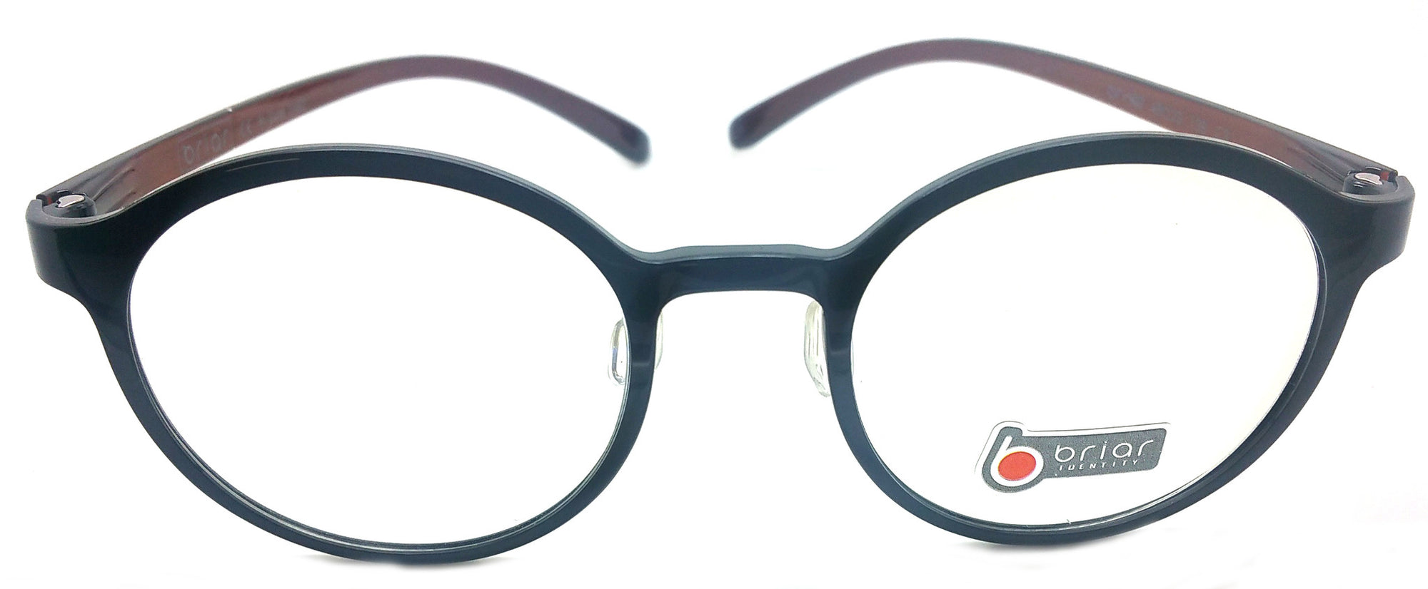 Briar Eyeglasses Prescription Frame Super Light, Flexible,  BR 303 C3