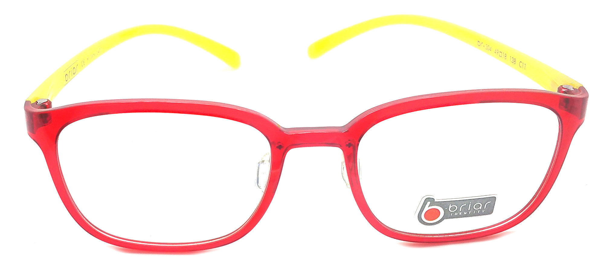 Briar Eyeglasses Prescription Frame Super Light, Flexible,  BR 304 C11