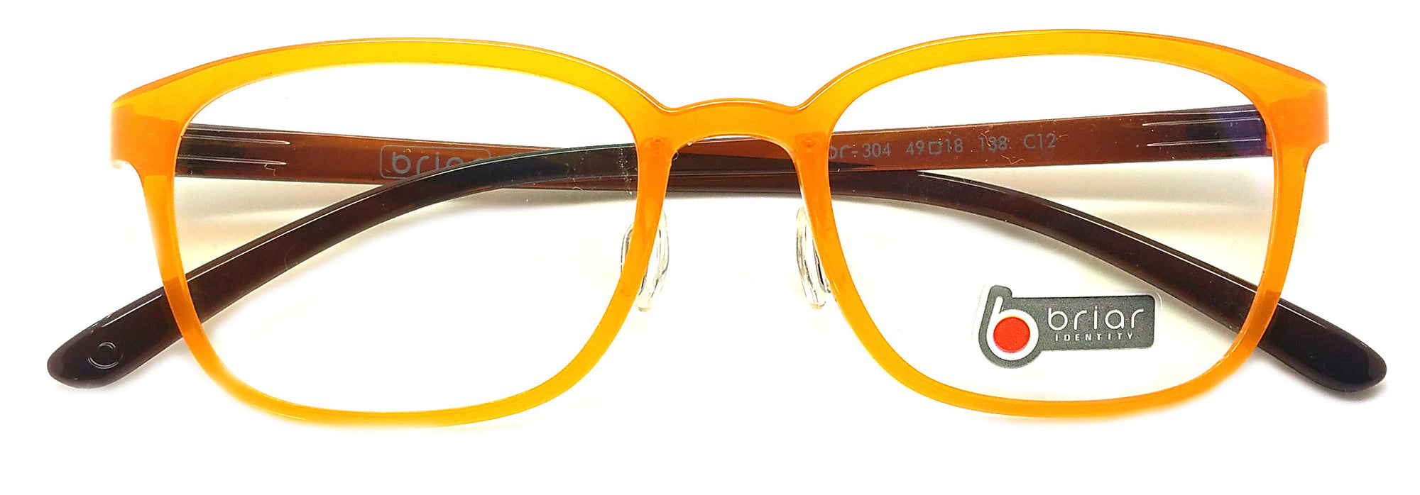 Briar Eyeglasses Prescription Frame Super Light, Flexible,  BR 304 C12