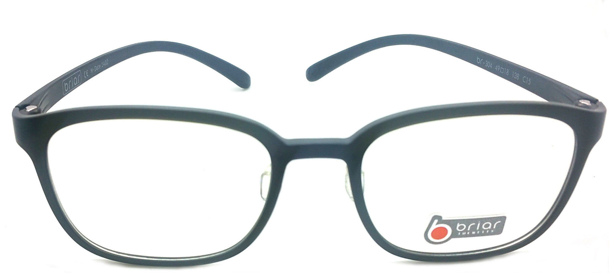 Briar Eyeglasses Prescription Frame Super Light, Flexible,  BR 304 C15