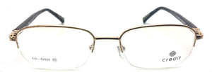 Crdit Metal line of Piovino Eyeglasses Frame Rxable Vintage Designer Frame CD 2525