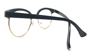 Special Round Metal and Plastic Black 6188 (FREE Rx Lens included)