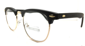 Special Round Metal and Plastic Black 8733 (FREE Rx Lens included)
