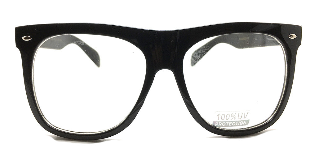 Special Extra Large Square W42 Black (FREE Rx lens Included)