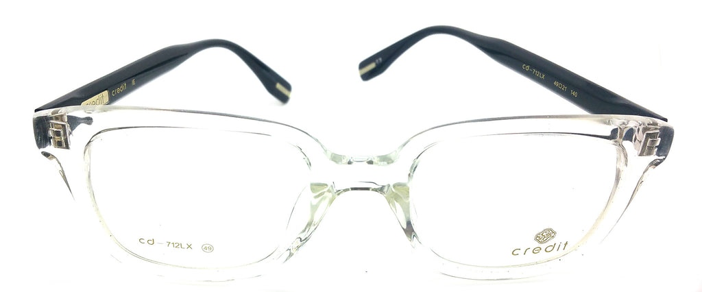Credit Prescription Eye Glasses Frame, Plastic Fashionable Frame Cd- 712 LX C3