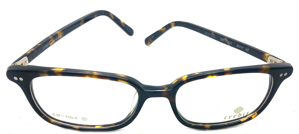 Credit Prescription Eye Glasses Frame, Plastic Fashionable Frame Cd- 710 LX C3