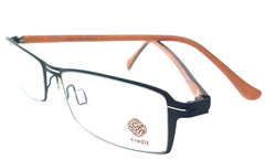 Credit Prescription Eye Glasses Frame, Plastic Fashionable Frame Cd 23019 C3M