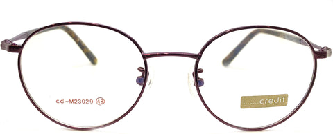 NEW Prescription Eye Glasses Frame, Fashionable Metal Frame Cd 23029 C6