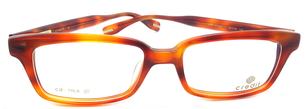 Credit Prescription Eye Glasses Frame, Plastic Fashionable Frame Cd- 711LX C5
