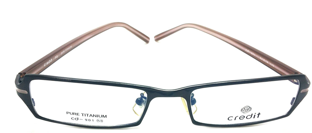 Credit Prescription Eye Glasses Frame, Plastic Fashionable Frame Cd 901 C1