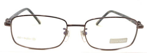 NEW Prescription Eye Glasses Frame, Fashionable Metal Frame CD SK 2541 Gray