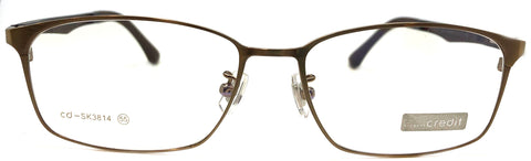 NEW Prescription Eye Glasses Frame, Fashionable Metal Frame Cd SK 3814 C12