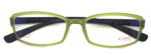 Credit Eyeglasses Prescription Frame Super Light, Flexible, Credit AF 001 Green