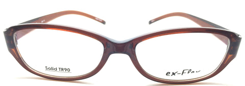 ex- Flex Eyeglasses Prescription Frame Super Light, Flexible,  Solid TR 90 C3