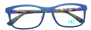 Prescription Eyeglasses Frame Ultem Irving 141 cobalt & bekko