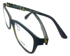 Piovino Eyeglasses Rxable Frame Super Light, Flexible, Ultem Frame 3007 C32G